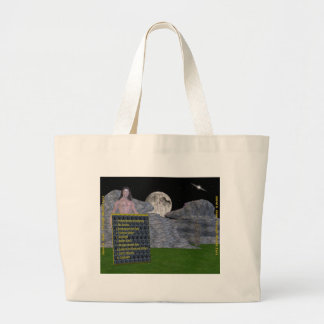 back cover large tote bag