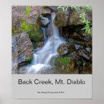 Back Creek, Mt. Diablo Print