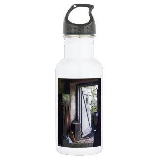 Back Door of Shop Water Bottle