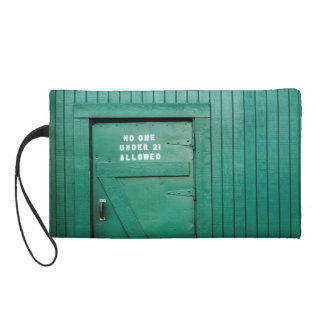Back Door Okelly's Irish Pub Wristlet Purse