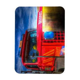 Back Draft Fire Truck Magnet