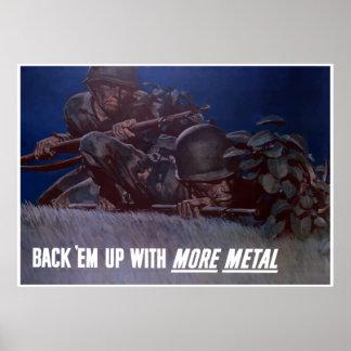 Back 'Em Up -- Border Poster