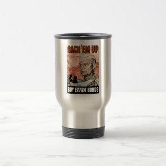 Back 'Em Up -- General Eisenhower Coffee Mugs