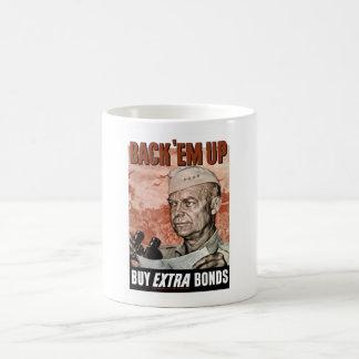 Back 'Em Up -- General Eisenhower Mugs