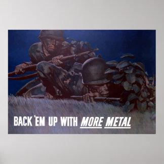 Back 'Em Up Poster