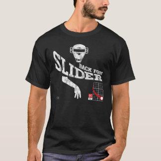 Back Foot Slider : Black + White T-Shirt