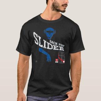 Back Foot Slider : Blue + Black T-Shirt