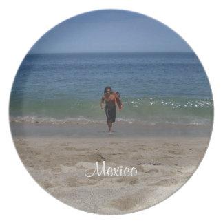 Back For More; Mexico Souvenir Melamine Plate