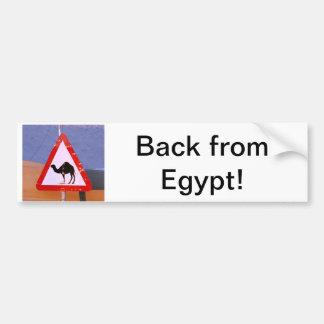 Back from Egypt Bumper Sticker