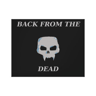 Back from the Dead canvas