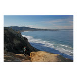 Back from Tour ~ Torrey Pines Blacks Beach to La J Poster