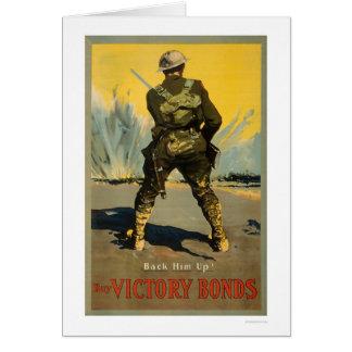 Back him up!  Buy Victory Bonds Card