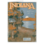 Back Home Again In Indiana Greeting Card