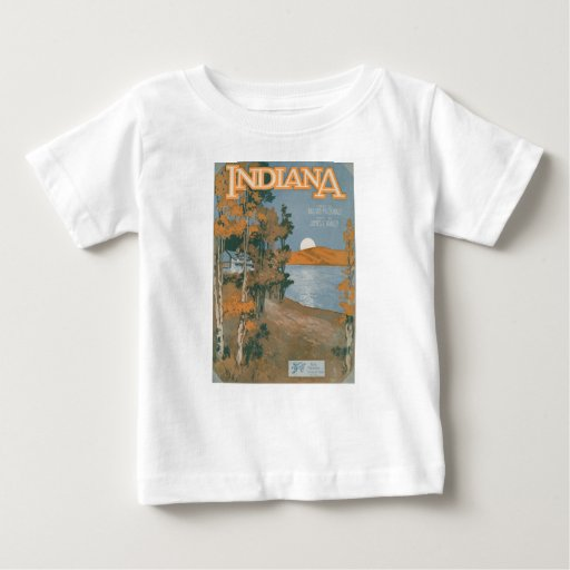 Back Home Again In Indiana Infant T-shirt