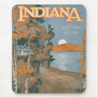 Back Home Again In Indiana Mousepads