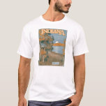 Back Home Again In Indiana T-Shirt