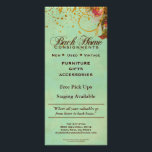 """Back Home Consignments Custom Rack Cards<br><div class=""""desc"""">These lovely Victorian Rose design rack cards are made especially for Back Home Consignments. This rack card and other versions of it are available in my store with templates for you to customize with your own text. Copyright Brandyinthesky - All rights reserved.</div>"""