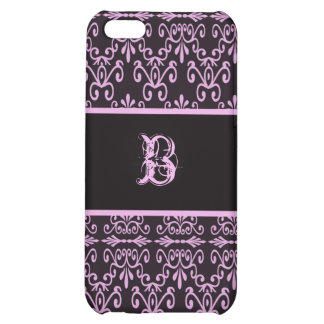 Back In Pink and Black Cover For iPhone 5C