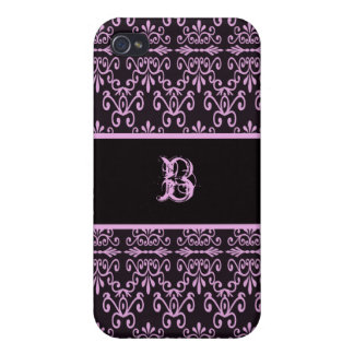 Back In Pink and Black iPhone 4 Cover