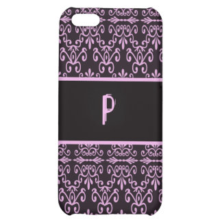 Back In Pink and Black iPhone 5C Case