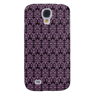 Back In Pink and Black Samsung Galaxy S4 Case