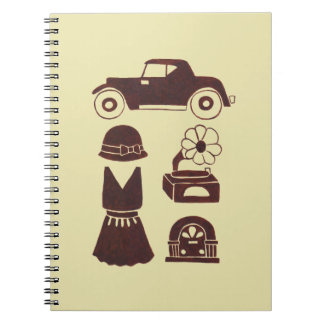 Back in the 20's note book