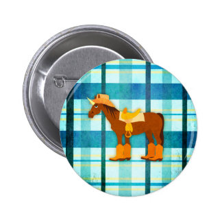 Back in the Saddle Pinback Button