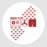 Back It Up Stickers