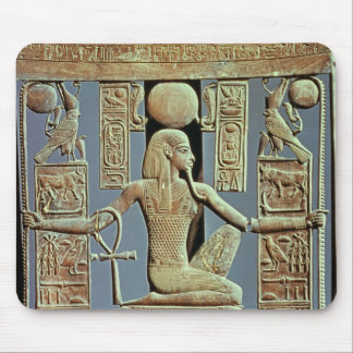 Back of a chair from the tomb of Tutankhamun Mouse Pad