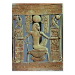 Back of a chair from the tomb of Tutankhamun Post Cards