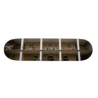 Back Of Crescent Hotel Skateboard