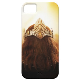 Back of Head with Crown iPhone 5 Cover