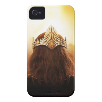 Back of Head with Crown iPhone 4 Cases