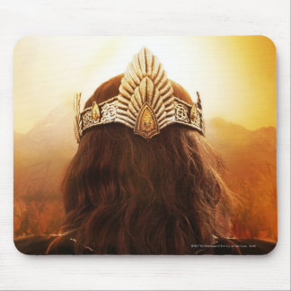 Back of Head with Crown Mouse Pad