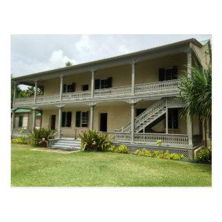 Back of Hulihe'e Palace, Kailua-Kona, Hawaii Postcard