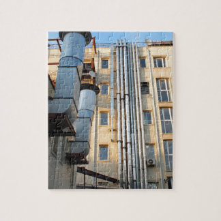 Back of the multistorey office building jigsaw puzzle