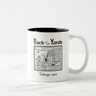 BACK OF THE YARDS CHICAGO Two-Tone COFFEE MUG