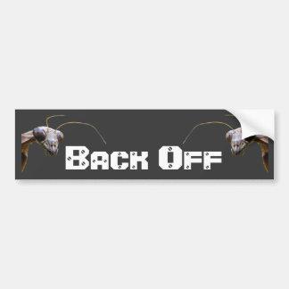Back Off 1 ~ Bumper Bumper Sticker