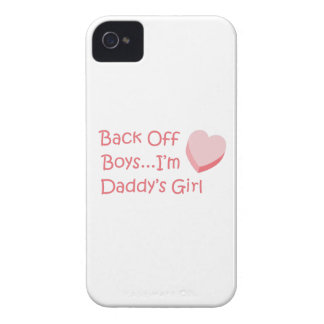 BACK OFF BOYS iPhone 4 Case-Mate CASES