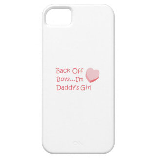 BACK OFF BOYS iPhone 5 COVER