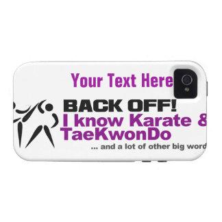 Back Off! custom iPhone 4 Case-Mate Case-Mate iPhone 4 Cases