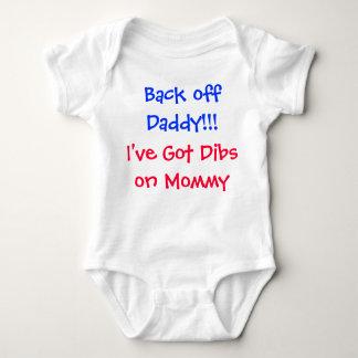 Back off Daddy!!! Baby Bodysuit