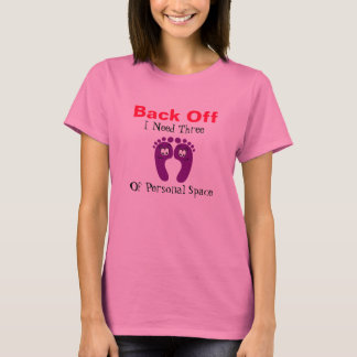 Back Off Happy Feet Personal Space Tshirt