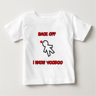 Back Off I Know Voodoo Doll Magic Spell Haitian Baby T-Shirt