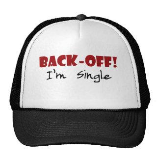 Back-off I'm Single Trucker Hat
