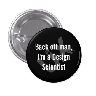 Back off man button