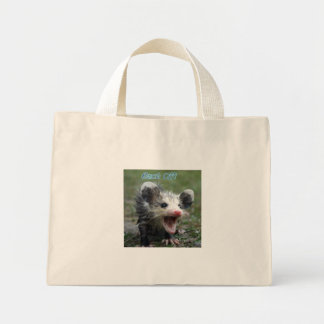 Back Off Mini Tote Bag