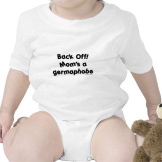 Back Off!  Mom's a Germaphobe T-shirts