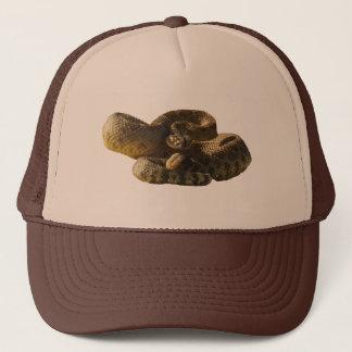 Back Off or I'll Bite Cha, Rattlesnake Trucker Hat