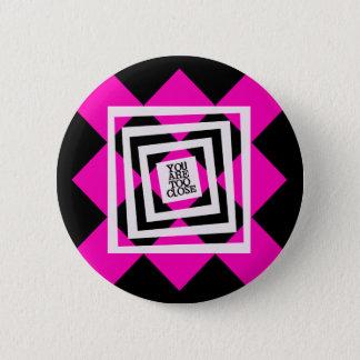 Back Off Pinz Pinback Button